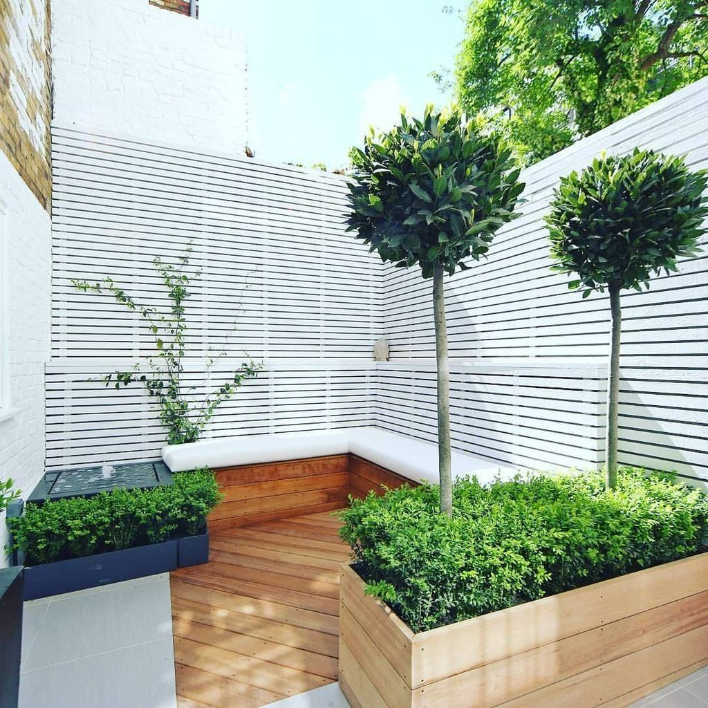 20+ Chic Small Courtyard Garden Design Ideas For You