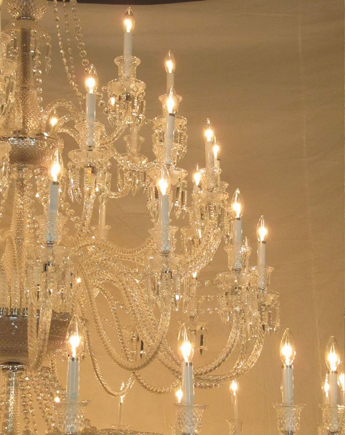 Great Detail of 88 light chandelier custom made to fit your specifications $17,400 free shipping