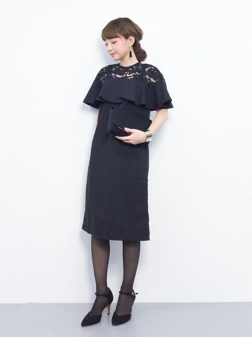 c9b0a1ab26ddc ayumi (ZOZOTOWN)|merlotのドレスを使ったコーディネート 2019 ...