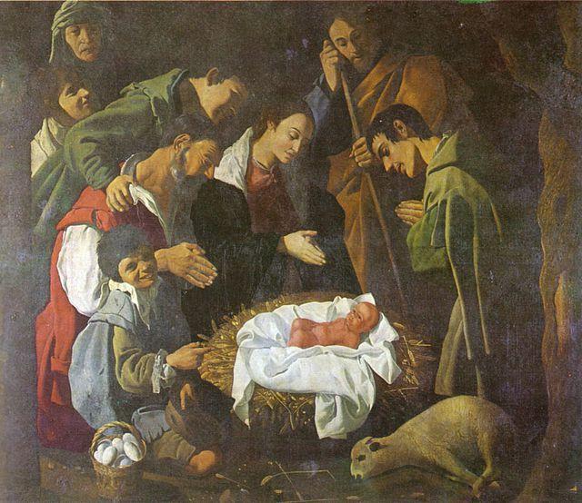 Cordoba. Museo di belle arti. Adoración de los Pastores. José Ruiz sarabia.