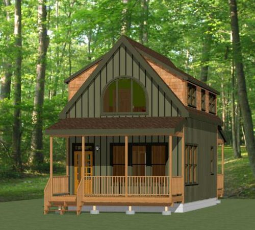 Tiny Home Designs: Details About 18x30 Tiny House -- 540 Sq Ft -- PDF Floor