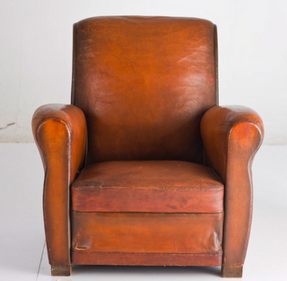 Comfy Leather Chair From House To Home Pinterest Armchairs - Comfy leather armchair for readers