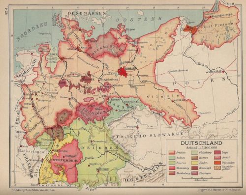 Germany in 1936 (Dutch). | Historical maps, Map, Early world ...