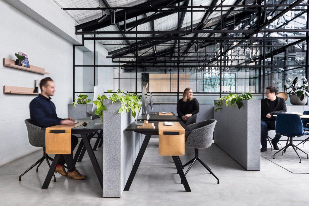 Armazém estilo art déco vira escritório moderno na austrália