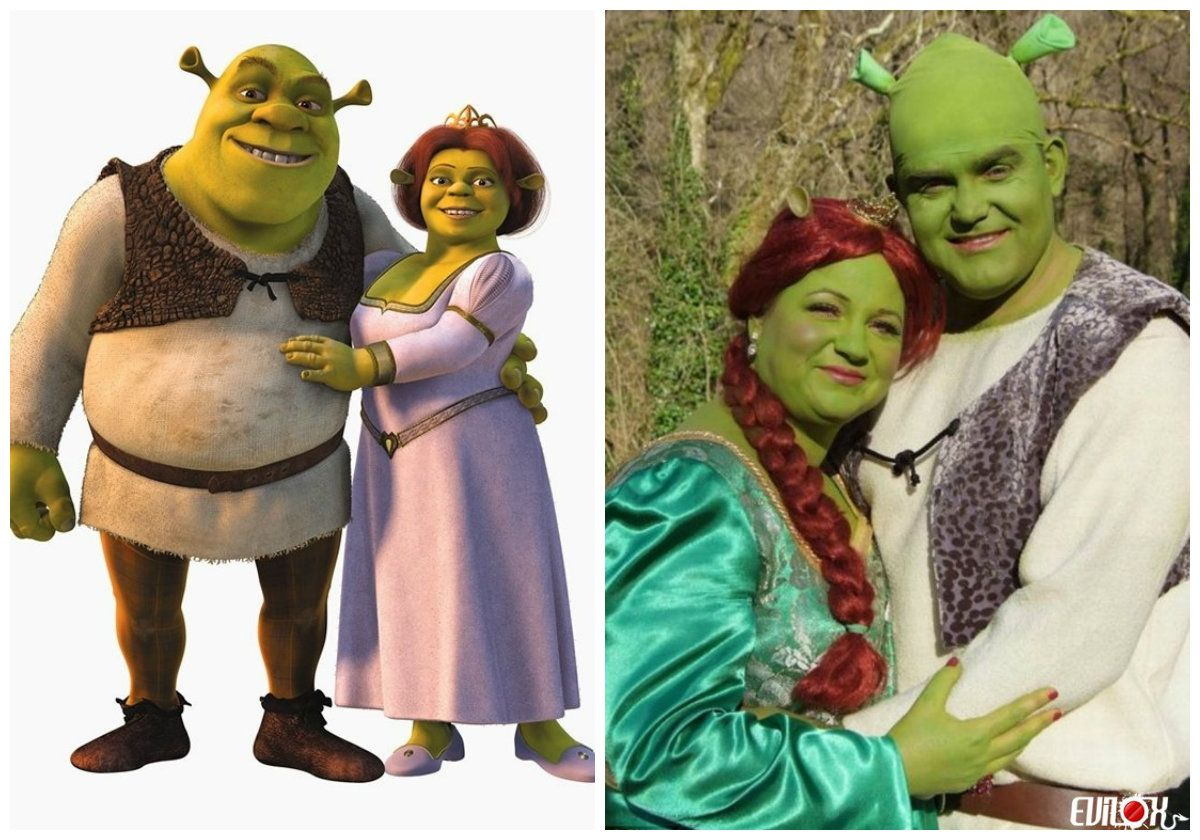 Quatang Gallery- 5 Deguisements De Couple Faciles A Faire Deguisement Deguisement Shrek Shrek