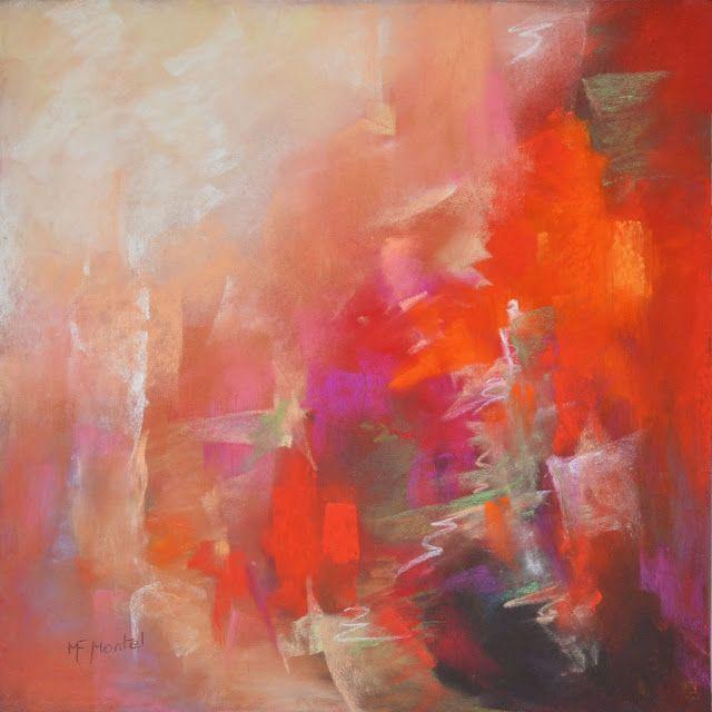 Fanou montel artiste peintre pastels galerie i boh me for Tableau geometrique pastel