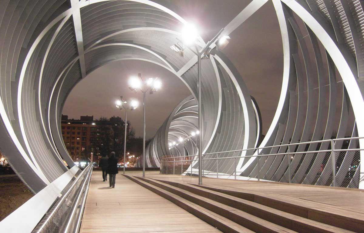 Amazing Arganzuela Footbridge Design Ideas