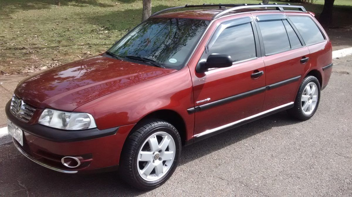 vw parati 1.0 / 16v turbo - crossover (somente venda)