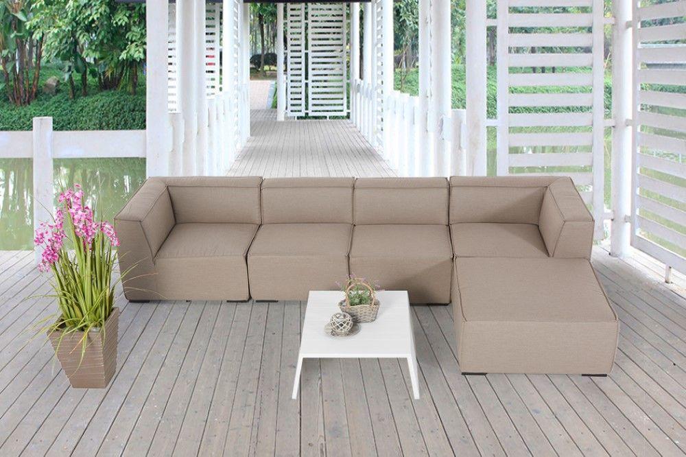 Eline Outdoor Lounge Sandbraun Kaufen Viplounge Outdoor Lounge Im Freien Moderne Gartenmobel