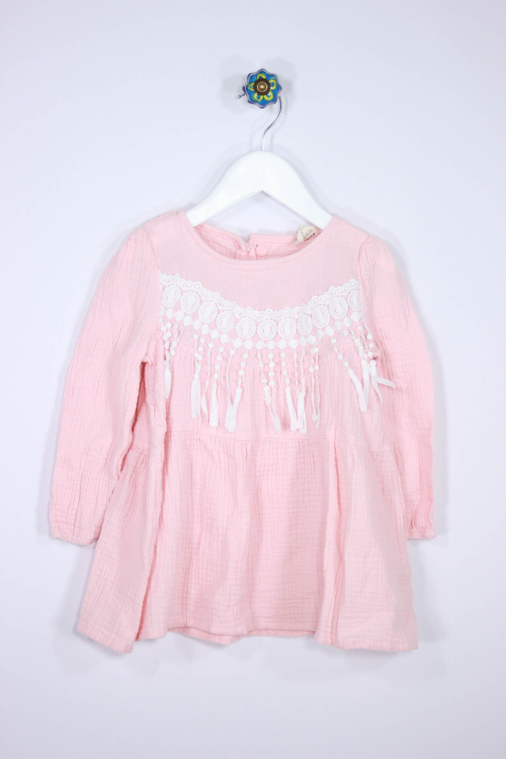 Size 4T Peach Dress