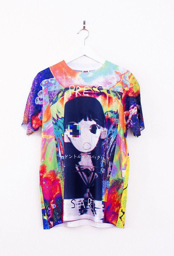 GLITCHGIRL T-Shirt – OMOCAT