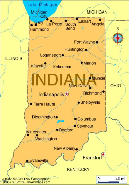 Indiana State Map With Cities And Towns.Pin By Joan Early On Once A Hoosier Always A Hoosier Pinterest