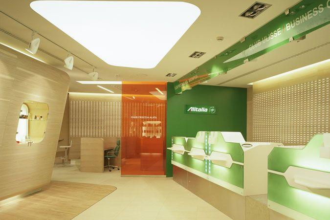 Alitalia brand identity was enhanced through new designs for New check designs
