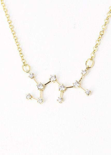 Sagittarius pendent necklace Zodiac Sagittarius necklace Sagittarius constellation necklace sterling silver dainty Sagittarius