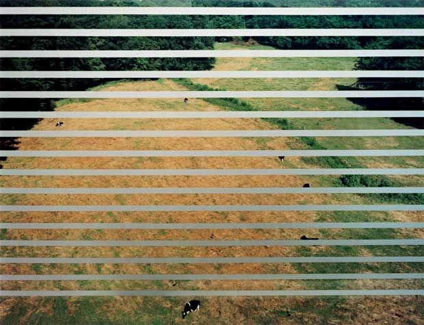 Andreas Gursky Mettmann, Autobahn, 1993 71 3/4 x 91 5/8 x 2 3/8 inches Copyright: Andreas Gursky / DACS 2014 Courtesy Sprüth Magers Berlin London