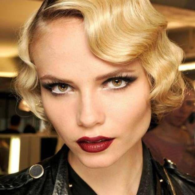 Maquillage ann es 20 comment faire un maquillage ann es - Maquillage annee 70 ...