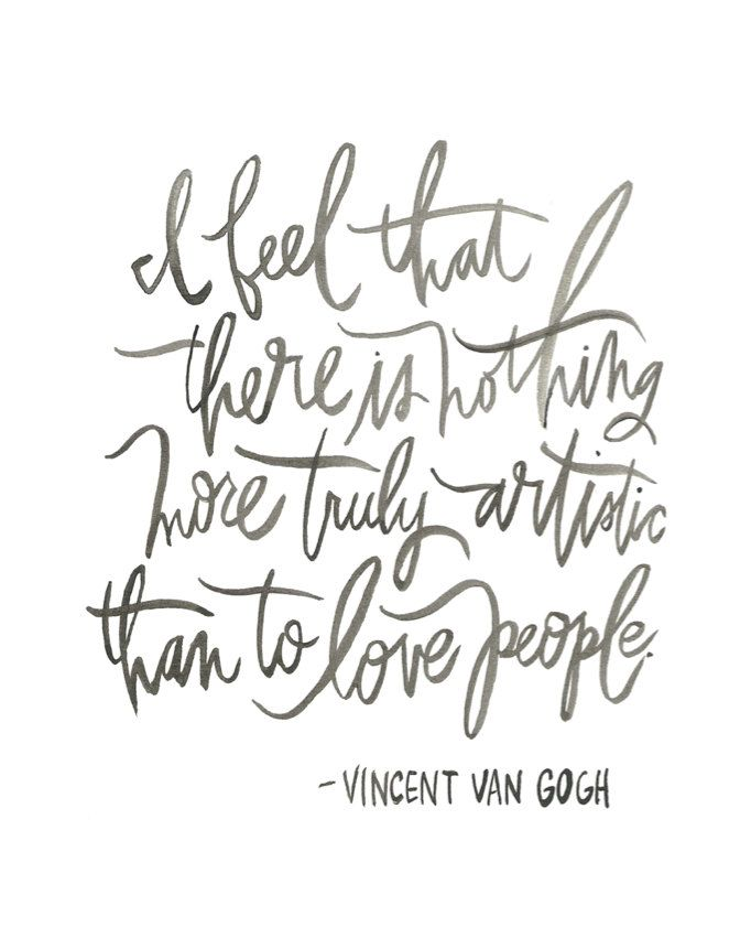Love people!