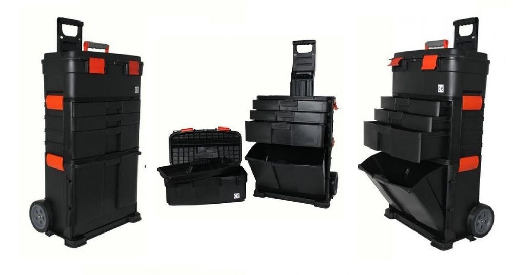 portable tool case with wheels