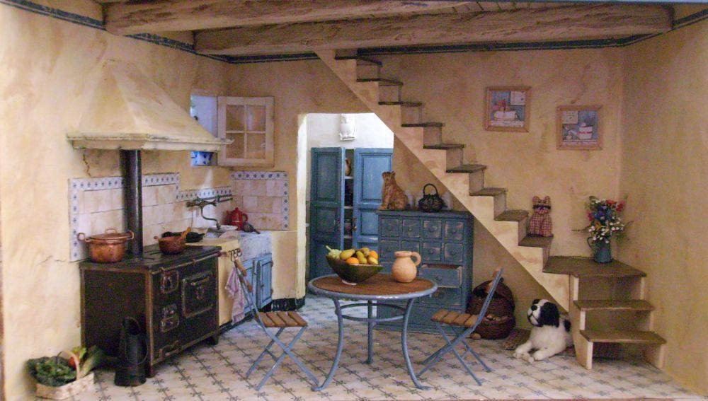 Kitchen 112 Minuaturas Pinterest Miniatures, Miniature