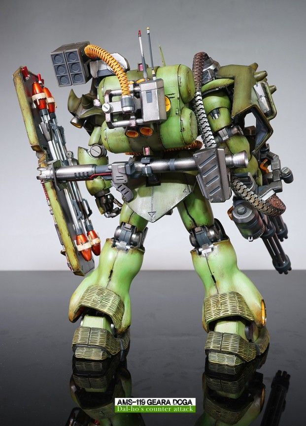 Custom Build MG 1/100 AMS119 Geara Doga Doga