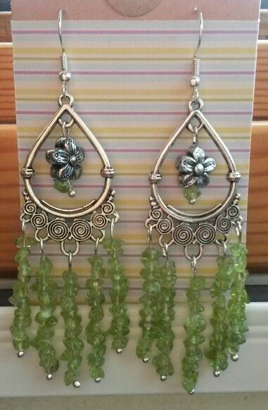 Peridot chandelier earrings precious fragment designs peridot chandelier earrings mozeypictures Choice Image