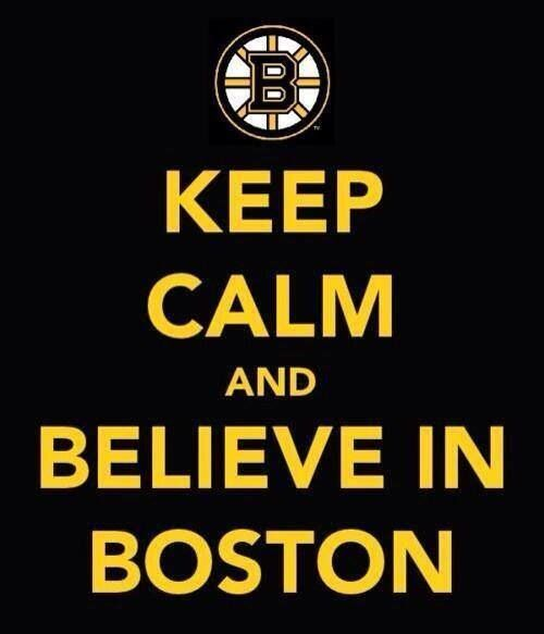 Believe In Boston Bruins Stanley Cup Playoffs Boston