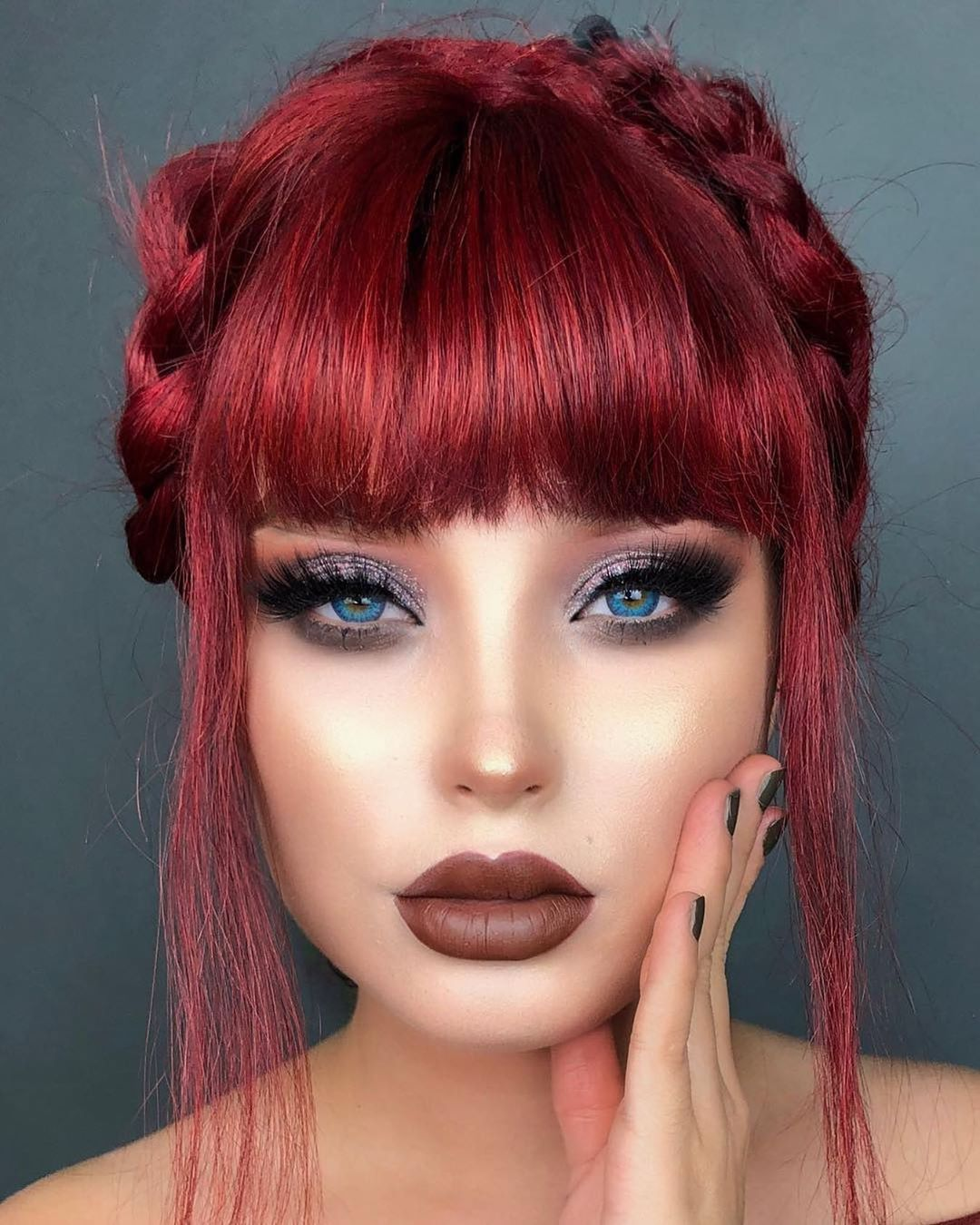 "BeautyVain on Instagram ""ARTIST lupescuevas "" Contact"