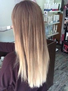 Mechas Californianas 6 Mechas Californianas Rubio Mechas Color
