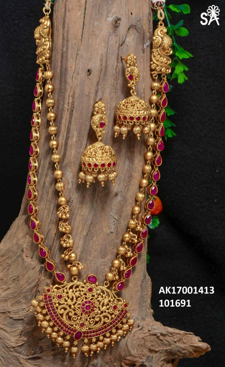 traditional artificial jewellery flower jewelry shopping design maroon india semi bridal green women golden online buy set