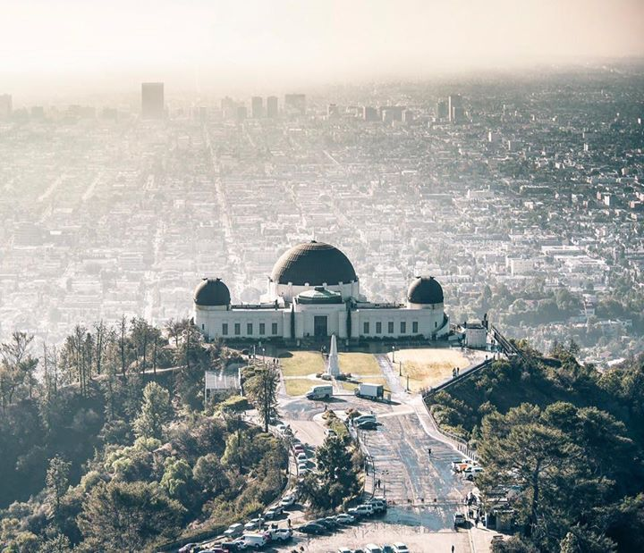 Griffith Observatory By Losangelesaerial California Feelings Griffith Observatory California Los Angeles
