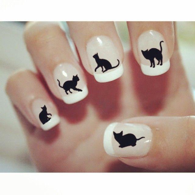 26++ Nail art con gatti ideas