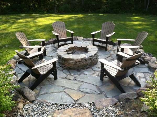 Photo of Outdoor furniture fire pit