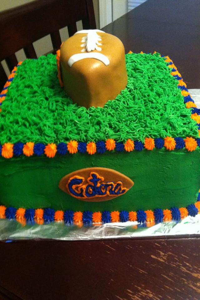 Florida Gator Birthday Cakes Pinterest Cake