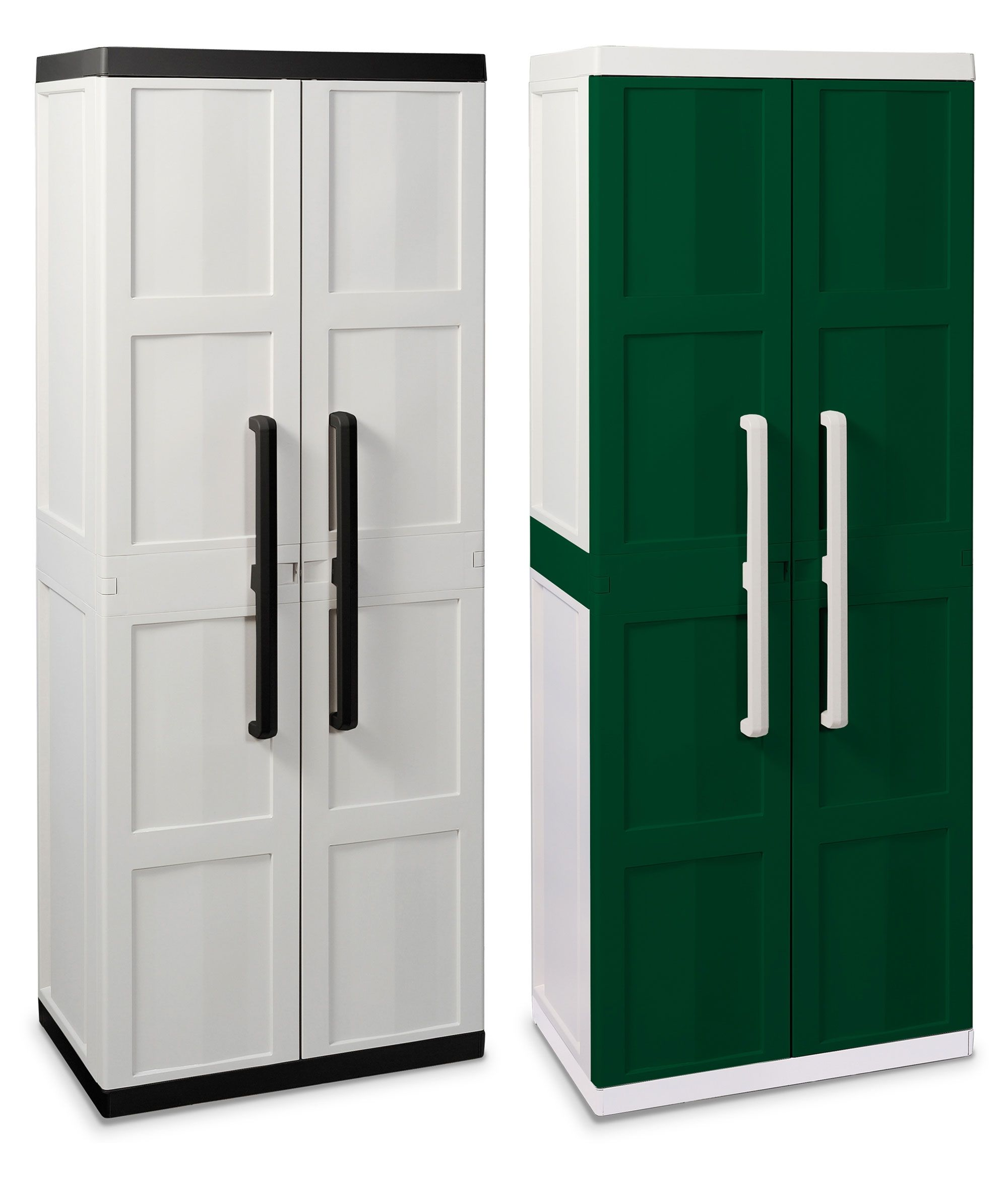 Cupboard Storage Cabinet With Doors Plastic