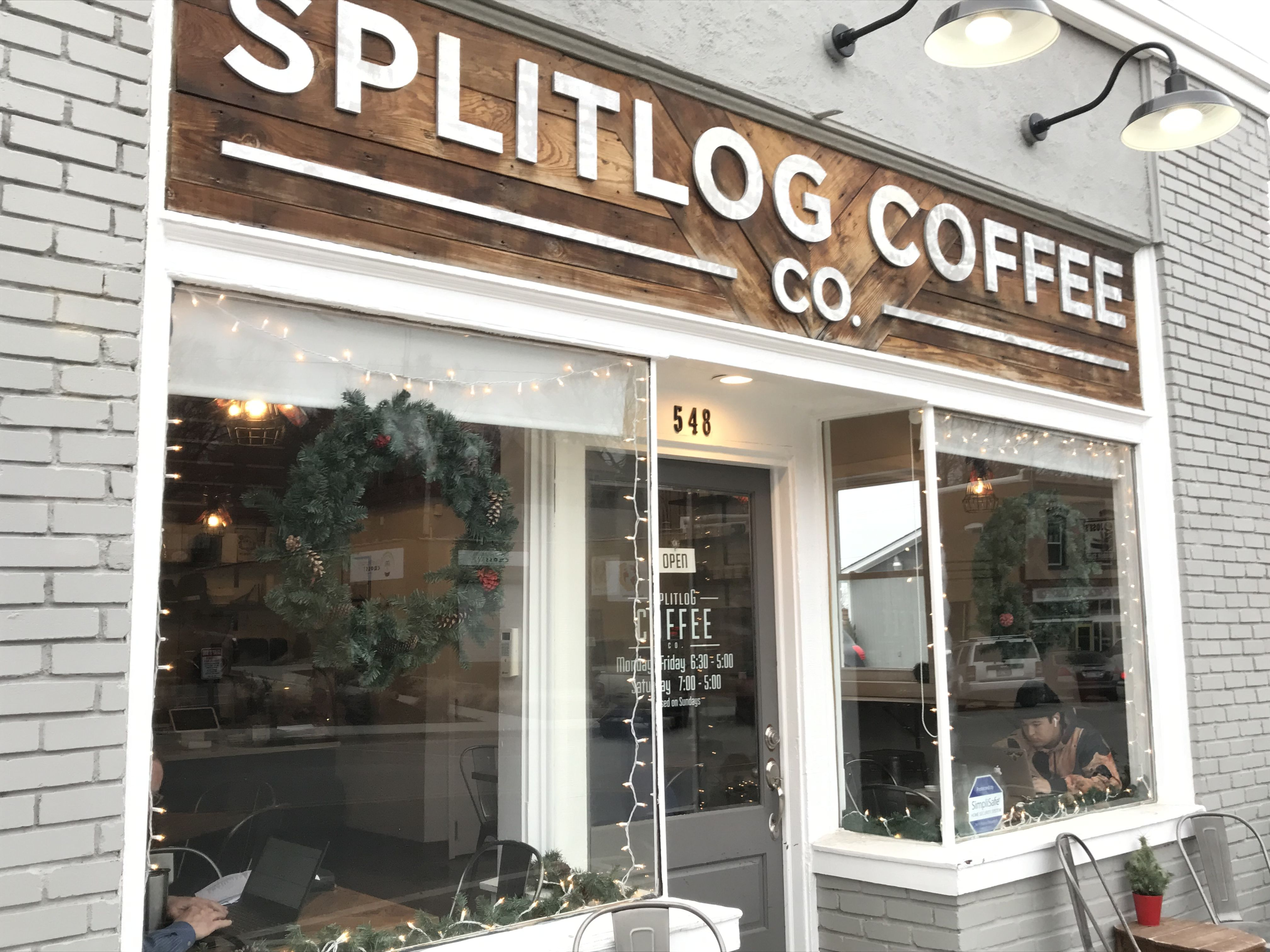 Splitlog Coffee Co I Stopped In Here Across The Street From Slaps Bbq It Is A Fun Coffee Shop At 548 Central Ave That Serves Cof Kansas City Kansas City