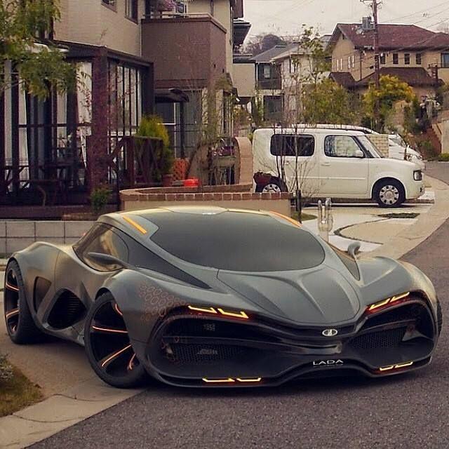 2014 Lada Concept Car Concept cars, Futuristic cars