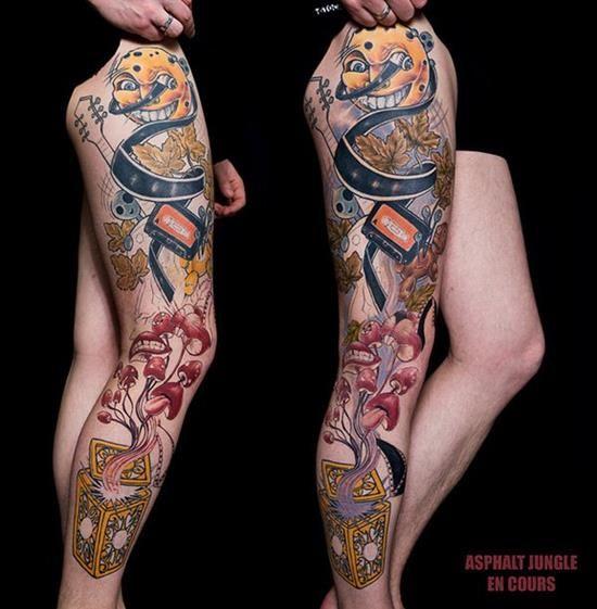 150 Best Leg Tattoos Men Women (Ultimate Guide, May 2019