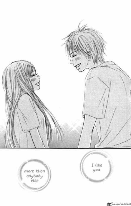Kimi ni Todoke - Shouta and Sawako.