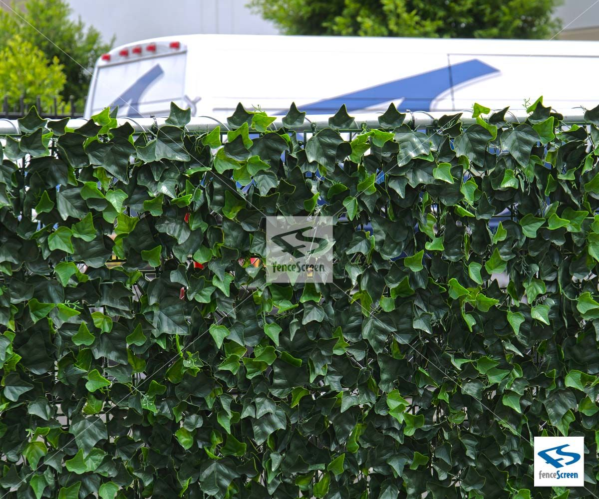 Artificial Ivy Green Leaf Mat Panels by NatraHedge | Back Yard ...