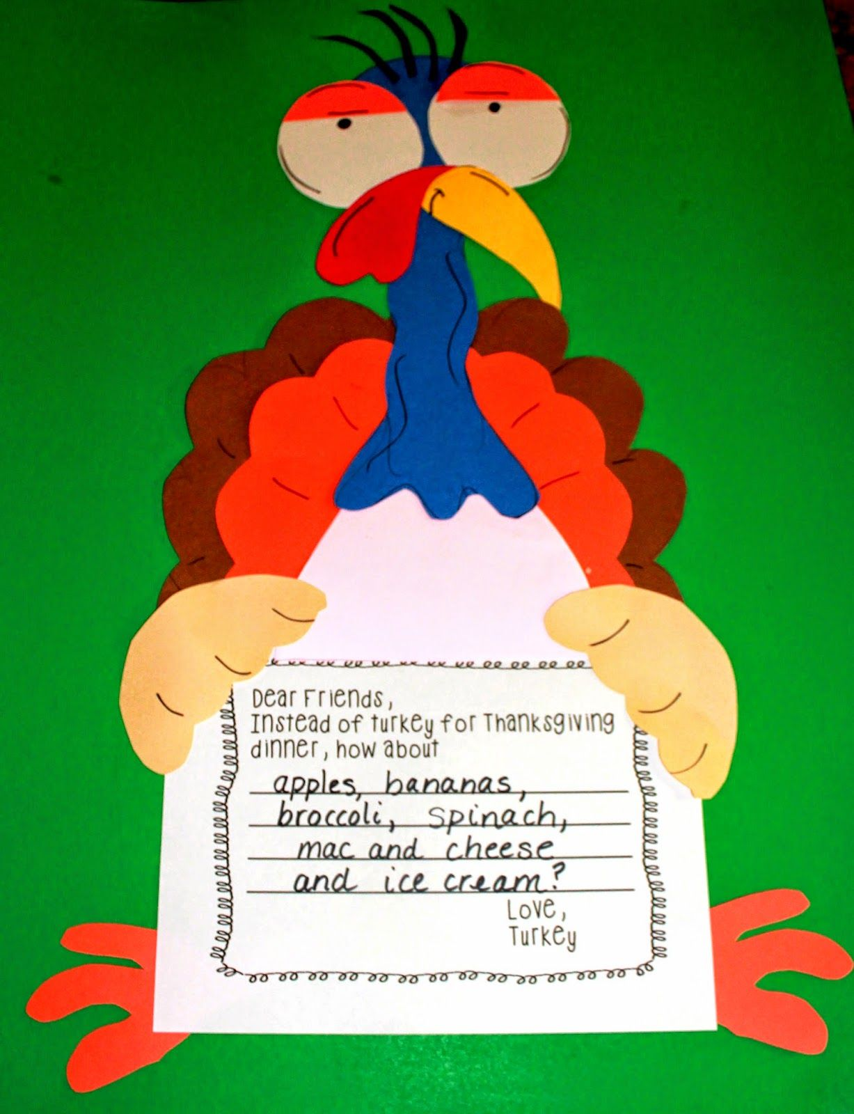 First Grade Wow Talkin Turkey Number Bonds And Craft Connection