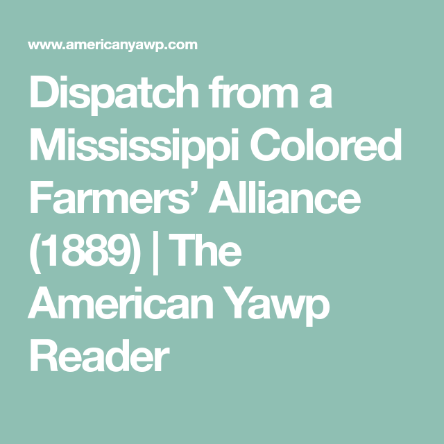 Declined With Thanks (1900)   The American Yawp Reader