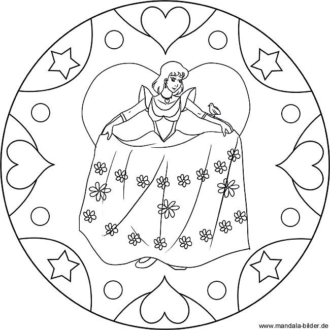 Kamistad Net Mandala Coloring Pages Princess Coloring Pages Mandala Coloring