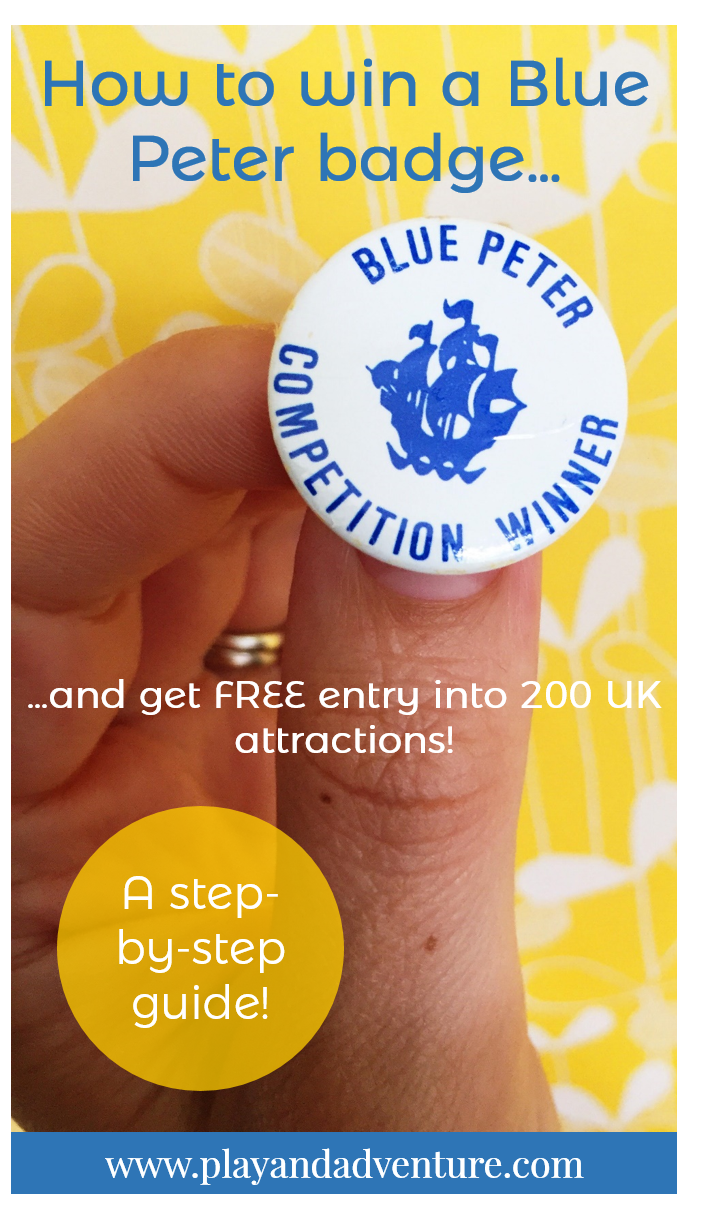 How to Get a Blue Peter Badge pictures