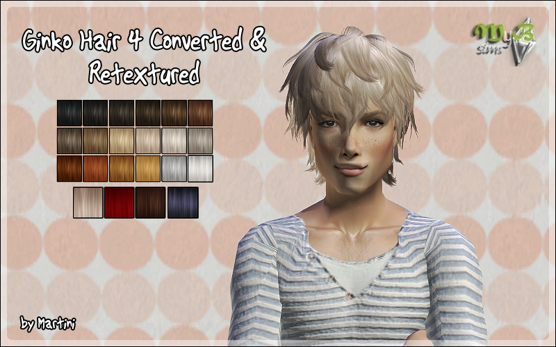Ginko Hair 4 Converted & Retextured