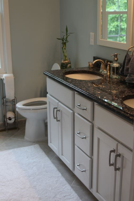 Avon Lake Bathroom Remodel Featuring A New Tiled Shower