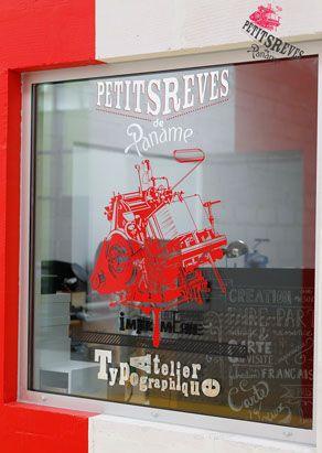 Petits rêves de Paname- Letterpress France / www.petitsrevesdepaname.fr