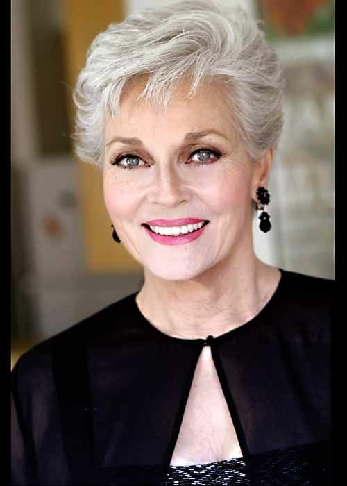 Pin By Myle Johnson On Older People Hair Hairstyles For Seniors Short Hair Styles Hair Beauty