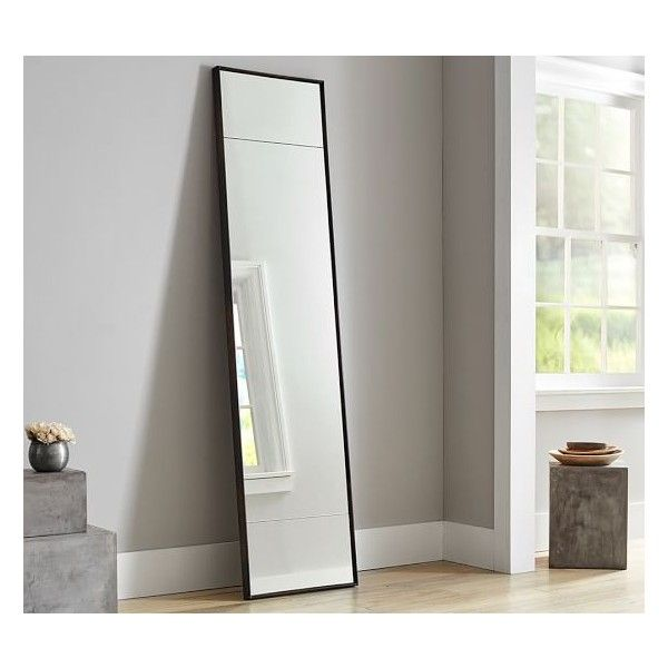 Pottery Barn Berke Narrow Floor Mirror 560 Liked On
