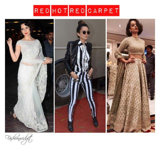"""Best Dressed November 2015 (Bollywood Edition): Kangana Ranaut"" by fashionwidget ❤ liked on Polyvore featuring Masaba"