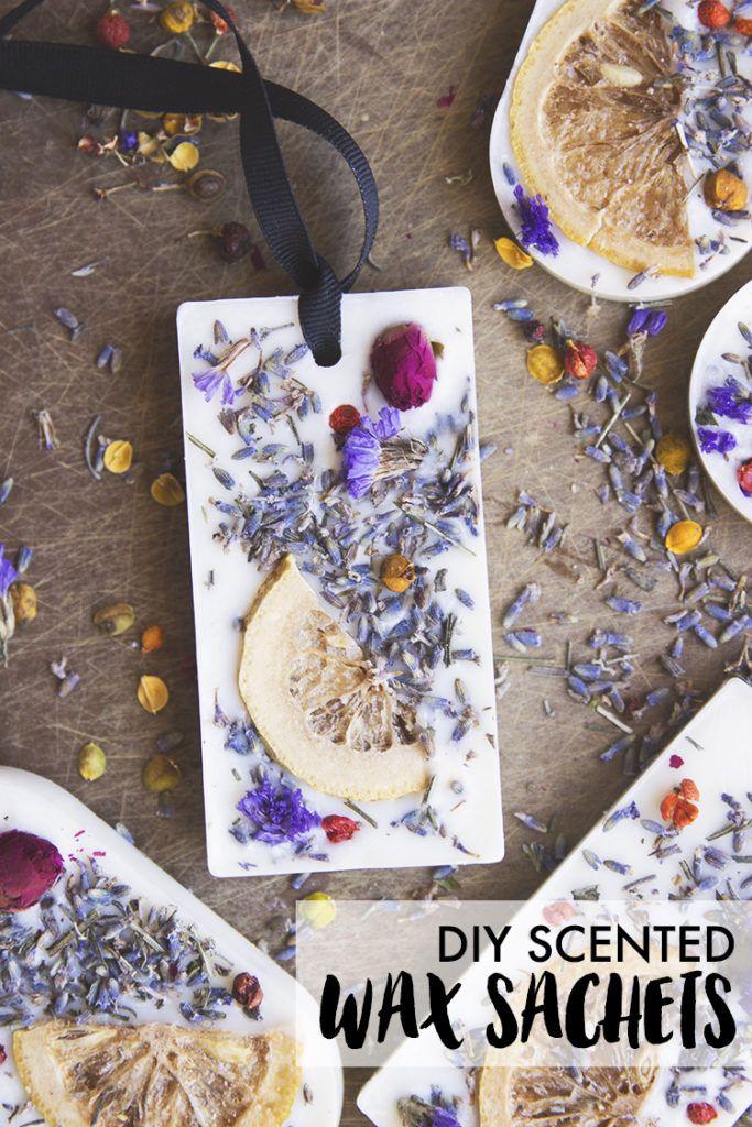 How to: Lavender, Rose & Lemon Wax Sachet DIY - sisoo.com